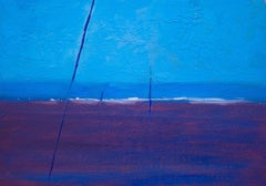 Blue #18, Painting, Oil on Canvas