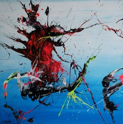 Fishermen's Friend (Spirits Of Skies 064011), Painting, Acrylic on Canvas