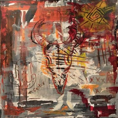 Desert, Painting, Oil on Canvas