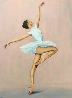 Ballerina, Painting, Oil on Canvas