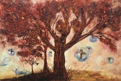 When I Saw This Tree..., Painting, Oil on Canvas