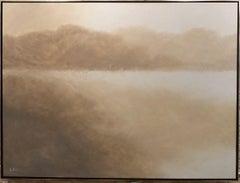 Diamond Lake, Painting, Oil on Canvas