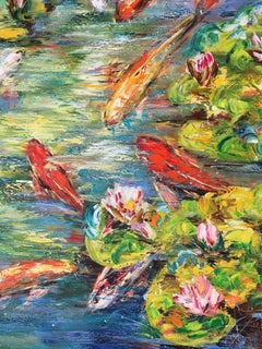 Fish, Painting, Oil on Canvas