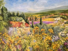 Summer in Provence, Painting, Oil on Canvas