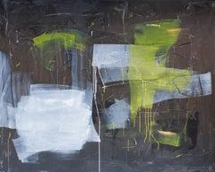 night flight, Painting, Acrylic on Canvas
