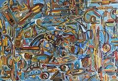 Bureaucracy (1), Painting, Oil on Canvas