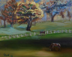 Horse Country, Painting, Oil on Canvas