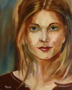 Female Portrait, Painting, Oil on Canvas