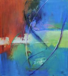 Bagatelle, Painting, Acrylic on Canvas