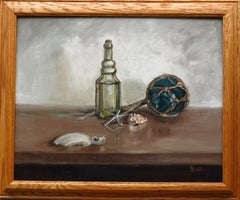 Maritime Living (Framed), Painting, Oil on Canvas