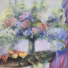 Envie de Melon, Painting, Acrylic on Canvas