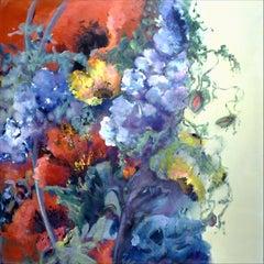 Mid-Summer, Painting, Acrylic on Canvas