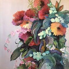 Fiesta, Painting, Acrylic on Canvas