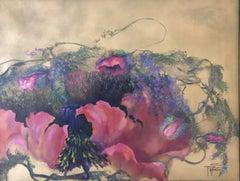 Poppy Dream, Painting, Acrylic on Canvas