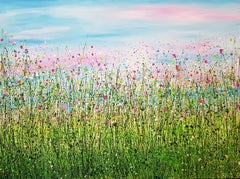 Wild & Free - Enchanted Meadows #3, Painting, Acrylic on Canvas