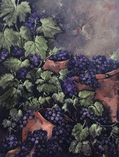 Grape Harvest, Painting, Oil on Canvas
