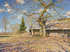 The Old Maple, Painting, Oil on Canvas