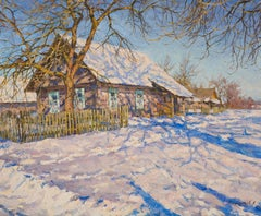 Frosty Morning, Painting, Oil on Canvas