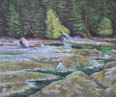 Port Renfrew (West Coast), Painting, Oil on Canvas