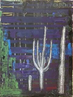 Purple Desert, Painting, Oil on Canvas