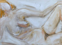 Reclining Nude, Painting, Oil on Canvas