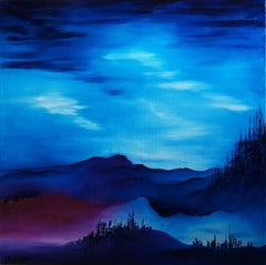 Fifth Dimension Land, Painting, Oil on Canvas
