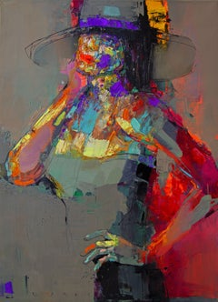 Lady Sharm, Painting, Oil on Canvas
