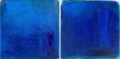 Deep Blue Sea, Painting, Oil on Canvas