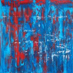 "My America  36"" x 36"", Painting, Acrylic on Canvas"