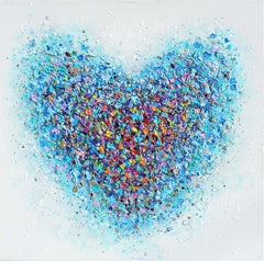 Candy Heart, Painting, Acrylic on Canvas
