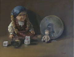 Dream of an American Girl, Painting, Oil on Canvas