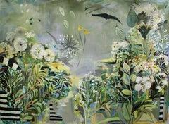 Untitled (Summer Garden), Painting, Acrylic on Canvas
