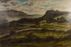 Albert Gritts - Large Early 20th Century Oil, Rolling Hillsides