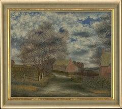 Ronald A. Broad - 1965 Oil, Sparsholt Landscape, Hampshire