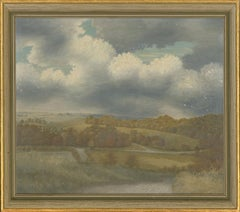 Ronald A. Broad - 1962 Oil, Doyley Bottom from Stoney Lane