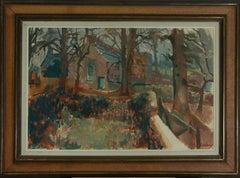 Patrick Lambert Larking (1907-1981) - Mid 20th Century Oil, Wooded Path