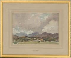 Percy Lancaster RBA RI (1878-1950) - Watercolour, Mountain Range