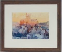 Michael Cadman RI ARCA (1920-2010) - 1993 Watercolour, Lincoln Cathedral
