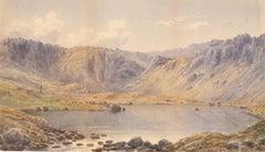 William Taylor Longmire (1841-1914) - 1872 Watercolour, Mountainous Landscape