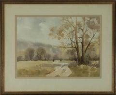 Jane Lampard - Contemporary Watercolour, Morning Mist