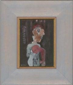 Gouache Portrait Drawings and Watercolours