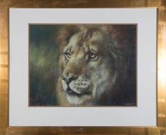 Joel Kirkin (b. 1948) - Signed & Framed Contemporary Pastel, His Majesty