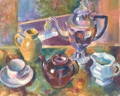 R. Mot - Mid 20th Century Watercolour, Energetic Still Life