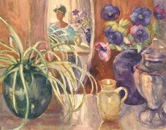 R. Mot - Mid 20th Century Watercolour, Floral Still Life