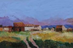 4805  Village at Lavalleja, Painting, Oil on Canvas