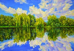 Reflection., Painting, Oil on Canvas