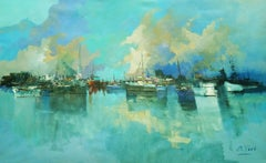 4780 North Vancouver, Painting, Oil on Canvas