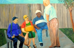 Veterans, Painting, Oil on Canvas