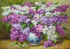 Lilac, Painting, Oil on Canvas