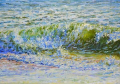 Music of the waves, Painting, Oil on Canvas